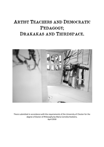 Artist teachers and democratic pedagogy